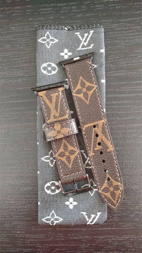 custom  louis vuitton apple  bands bands straps smartwatchme