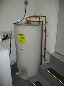Hot Water Tank Installation  Drain  Insulation  Plumber