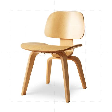 eames style dining lcw walnut wood chair replica