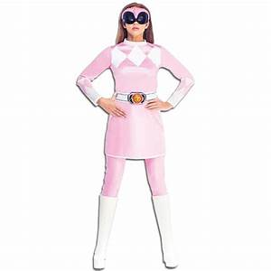 Adult Womens Classic Mighty Morphin Pink Power Ranger ...