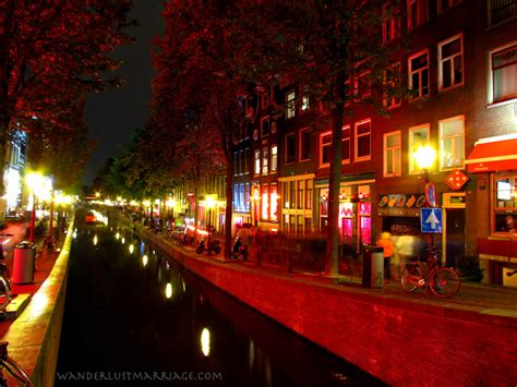 Light District by Amsterdam S Light District At Wanderlust Marriage