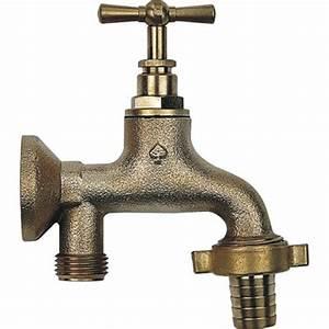 Applique Murale Pour Robinet Exterieur : robinet d 39 arrosage monobloc avec applique porquet bricozor ~ Mglfilm.com Idées de Décoration