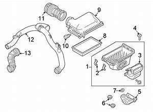 2016 Ford Explorer Air Charge Temperature Sensor  Liter