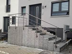 Hauseingang Treppe Modern : edelstahl gel nder hauseingang ~ Yasmunasinghe.com Haus und Dekorationen