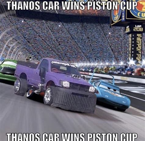 Thanos Car Thanosdidnothingwrong