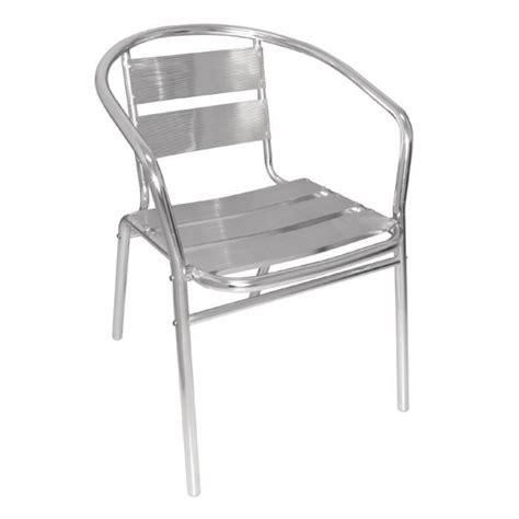 chaise aluminium pas cher chaise inox achat vente chaise inox pas cher cdiscount