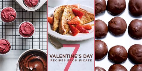 FIXATE Valentine's Day Recipes Nikki Kuban Minton