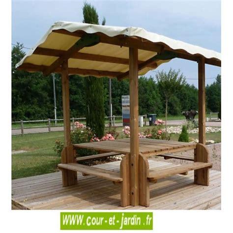 Table Avec Banc En Bois by Table Pique Nique Bois Table De Jardin Bois Avec Banc