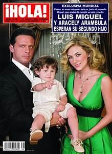Luis Miguel y Aracely Arámbula esperan su segundo hijo ...