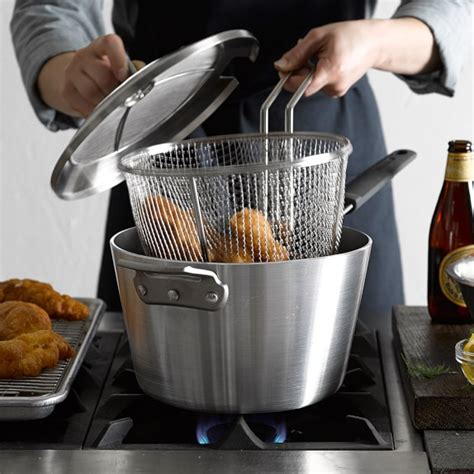 deep fryer tramontina sonoma williams cookware scroll