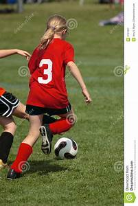 Soccer Player Chasing Ball Royalty Free Stock Photography ...