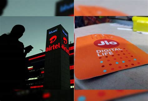 chief technology officers of reliance jio bharti airtel step