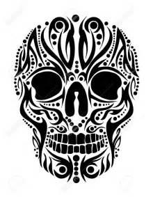 Grim Reaper Pumpkin Stencil Free by 40 Tribal Skull Tattoos Ideas