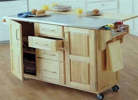 kitchen island rolling benefits of using rolling kitchen islands blogbeen 1994