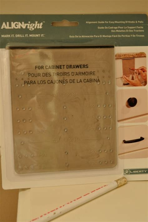 drawer pull template how to install drawer pulls the and easy way teeny ideas