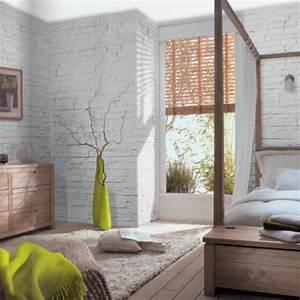 Parement Salle De Bain : pierre de parement orus white plaquette aspect pierre ~ Melissatoandfro.com Idées de Décoration