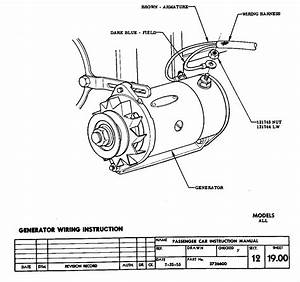 55 Chevy Generator Wiring Diagram