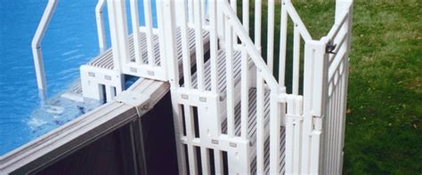Above Ground Pool Ladder & Step System
