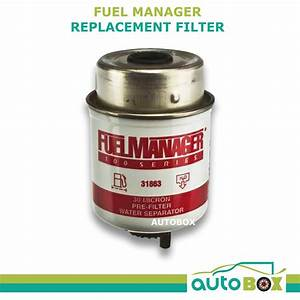 Fuel Manager Replacement Filter Diesel Fuel Manager 30