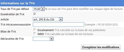 Modification Régime Fiscal Auto Entrepreneur by Devis Auto Entrepreneur Tva