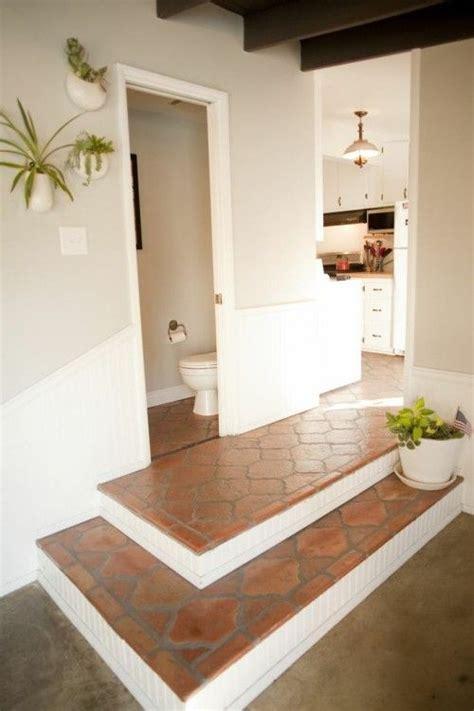 Terracotta Wandfarbe Wohnzimmer by Wandfarbe Terrakottaboden Fliesen Wohnzimmer