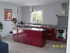 Meuble Separation Cuisine Salon : nice meuble separation cuisine salon 2 cuisine moderne ~ Dailycaller-alerts.com Idées de Décoration