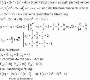 Nullstellen Berechnen Ausklammern : ganzrationale funktionen iii ~ Themetempest.com Abrechnung
