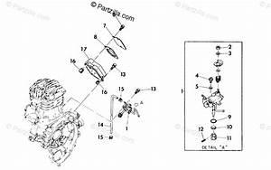 Polaris Atv 1992 Oem Parts Diagram For Oil Pump Assembly