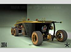 Steampunk 6Wheel Land Yacht Is a Car from the Future Past