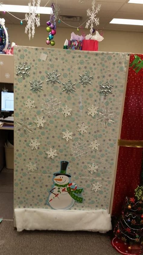 christmas cubicle decorations crafty stuff pinterest