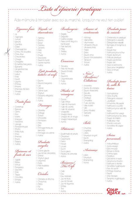 liste one les 12 listes de courses pr 234 tes 224 imprimer mod 232 les pdf et excel