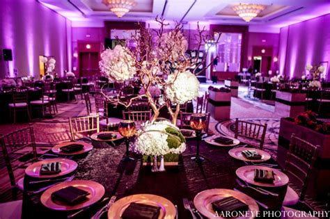 Glamorous Indian Wedding In Purple And White By Aaroneye
