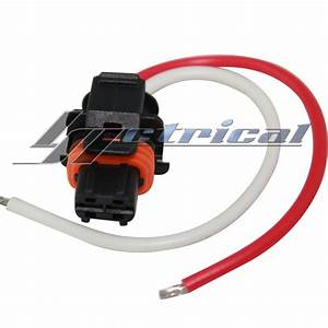 Alternator Repair Pigtail Plug 2 Pin Wire Harness Fits Cadillac Cts Dts Srx Sts