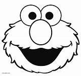 Elmo Coloring Pages Face Printable Sesame Street Template Cartoon Birthday Drawing Cool2bkids Grinch Faces Clipart Monster Christmas Happy Cake Clipartmag sketch template