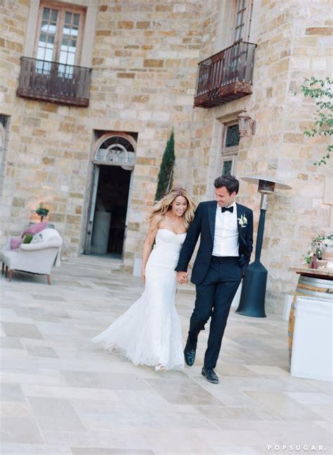 lauren conrads wedding pictures  popsugar celebrity