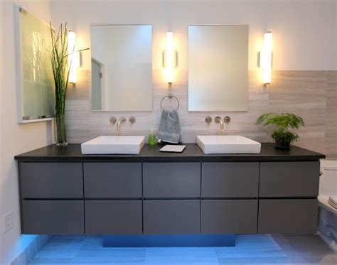 wall sconces bathroom contemporary with custom woodwork vanity beeyoutifullife com