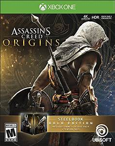 Assassin's Creed Origins SteelBook Gold Edition Release ...