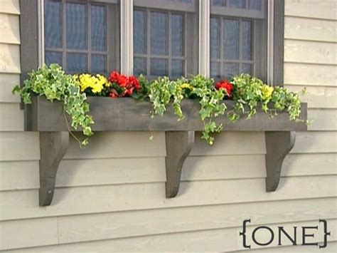 Outside Window Sill Planter by Ten Diy Window Box Planter Ideas With Free Building Plans
