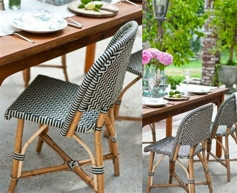 currently obsessed rattan bistro chair hello