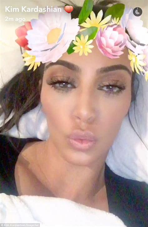kim kardashian offers feedback  snapchat users