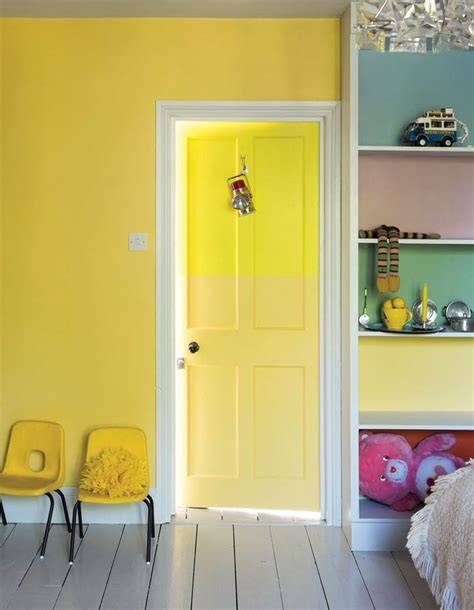 Peindre Une Porte Peinture Chambre Enfant Nos Id 233 Es Pleines De Style D 233 Coration