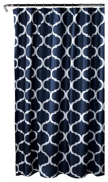 geo shower curtain shower curtains by lush decor