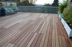 Dalle Bois Terrasse 100x100 : dalle de terrasse en bois 1mx1m ~ Melissatoandfro.com Idées de Décoration