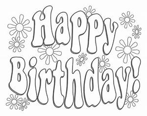 58 besten Happy Birthday coloring Pages Bilder auf