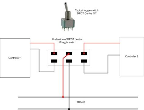 Diagram For Wiring Single Pole Throw Toggle by Spst Vs Dpdt Questions Answers Railway Modeller