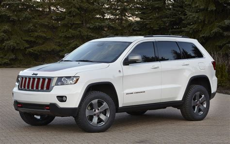 Jeep Grand Cherokee Trailhawk Concept 2012 Widescreen