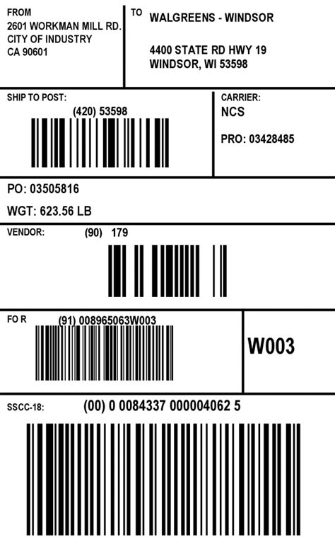 Currently there is no option within shipstation to chose which shipping label format you want to use for printing. shipping labels walmart how to print ucc 128 shipping labels 2 638 - Top Label Maker