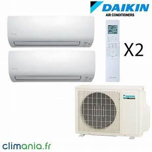 Climatiseur Bi Split : daikin climatiseur bi split r versible 2mxs40h 2 ftxs20k ~ Dallasstarsshop.com Idées de Décoration