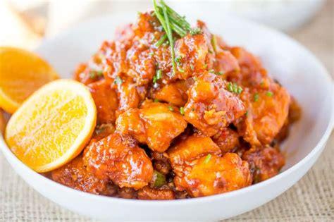 pf changs orange peel chicken copycat dinner
