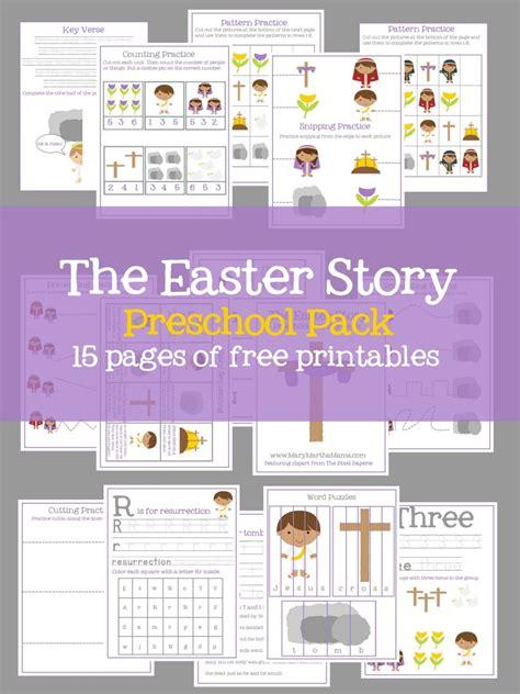 free the easter story prek pack free homeschool deals 839 | cap 43 768x1024
